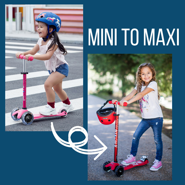 micro mini scooter and micro maxi scooter