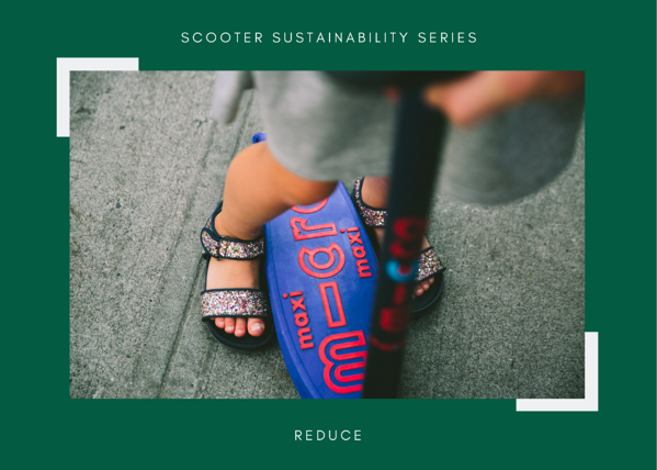 maxi deluxe scooter sustainable recycle