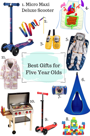 Gifts for Five Year Old
