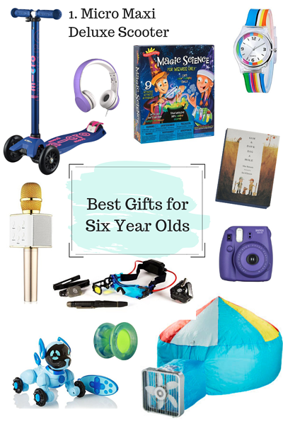 Gifts for Six Year Old