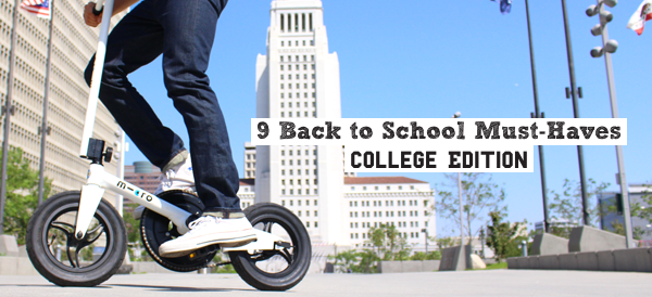 Nine Back to School Must-Haves: College Edition