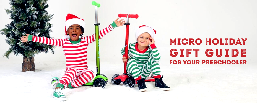 The Micro Holiday Gift Guide for your Preschooler