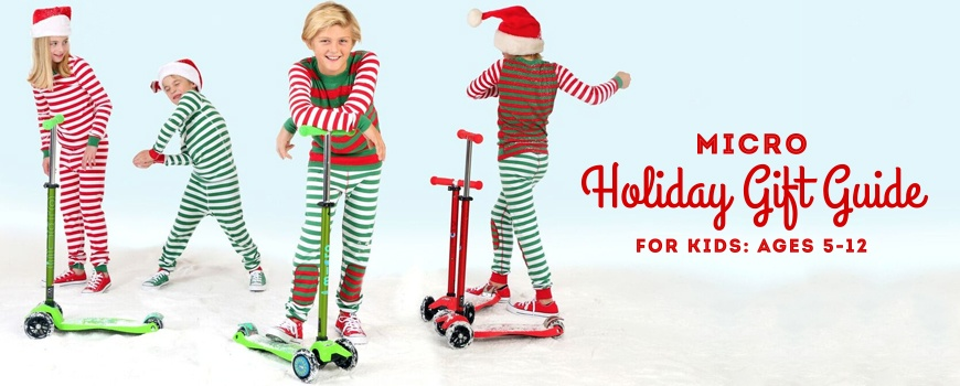 Micro's Holiday Gift Guide for Kids: Ages 5-12