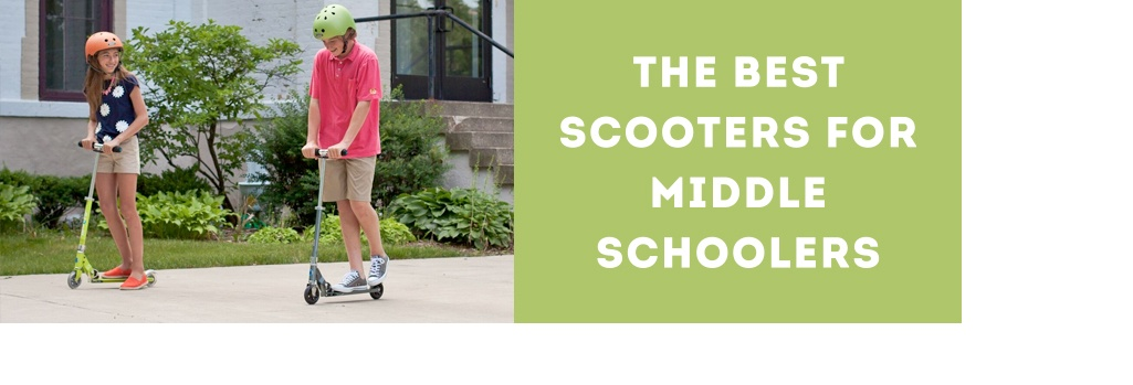 Best Scooters for Middle Schoolers This Summer
