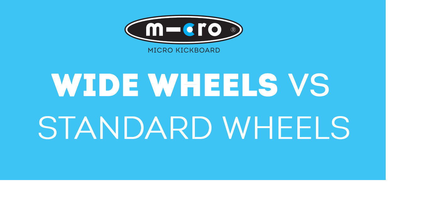 Wide wheels vs. standard wheels – what is the difference?  Pros and cons of each?